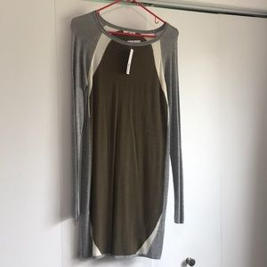 LA Made sweater dress